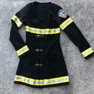 Leg Avenue Sexy Firefighter Halloween Costume S M